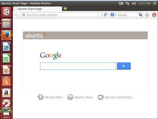 ubuntu上のfirefox